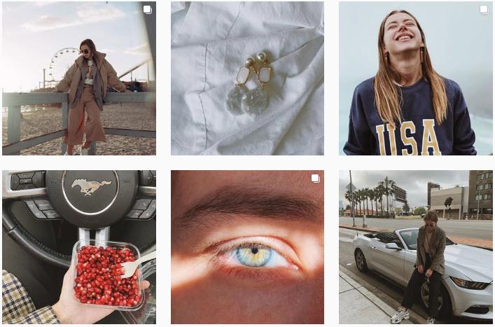 Скриншот из Instagram Саши Митрошиной