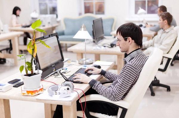 В одном из офисов СactusSoft. Фото со страницы компании ВКонтакте