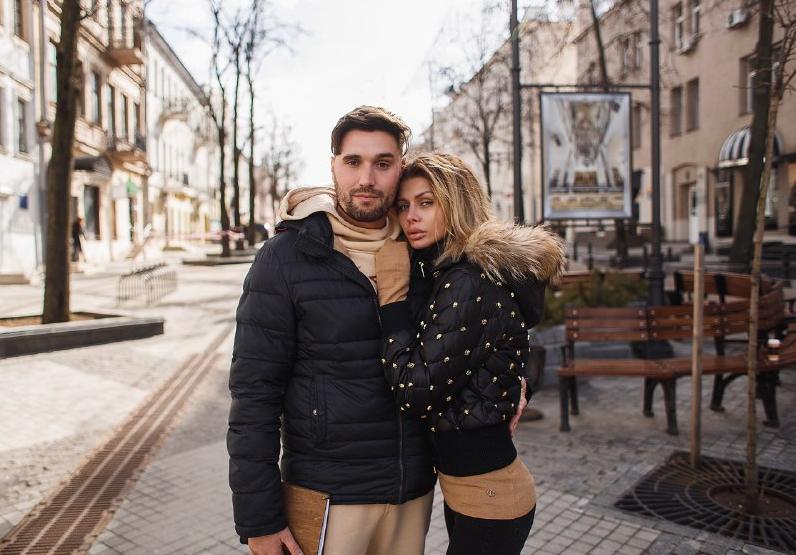 Со второй супругой Таис Рыбакиной