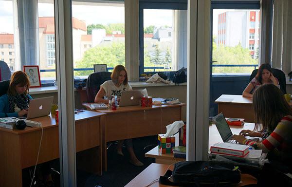 В офисе MAPS.ME. Фото dev.by