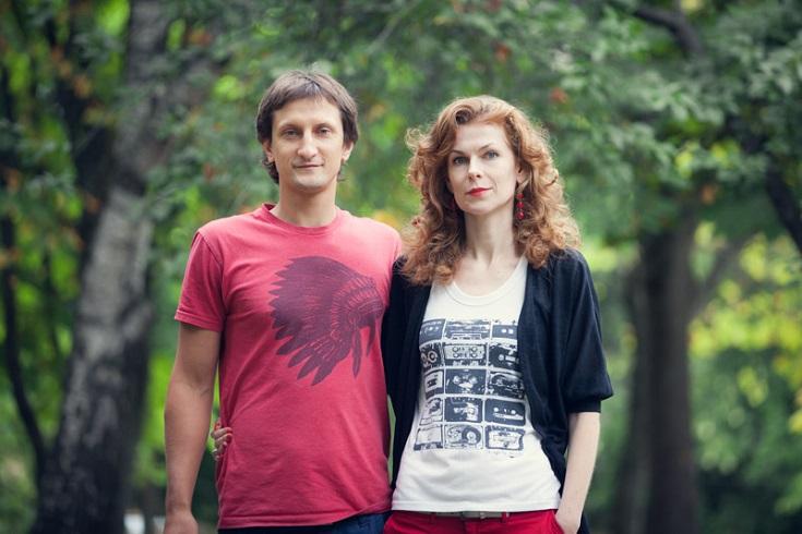 Александр Жданович и Анна Трубачева. Фото: Марек Жданович
