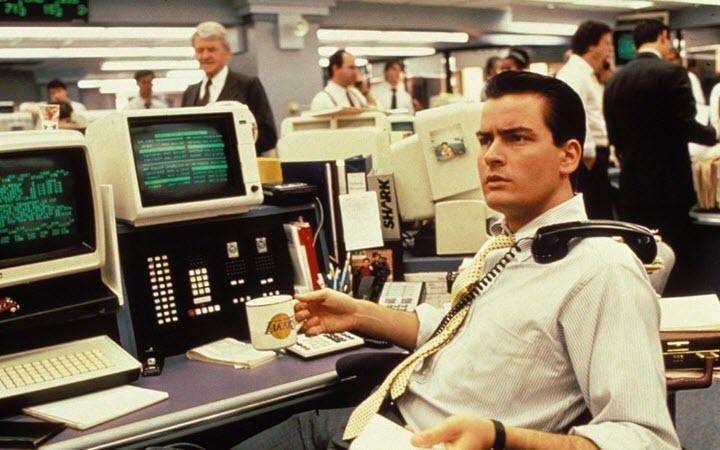 Кадр из фильма Уолл-стрит (1987). Фото с сайта deipara.com