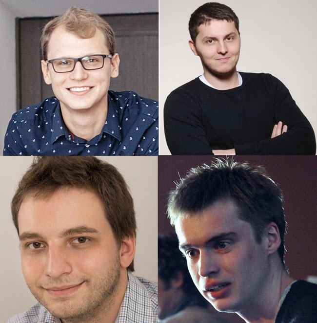 Евгений Невгень, Сергей Гончар, Николай Давыдов, Евгений Затепякин. Фото со страниц в Facebook, flickr.com