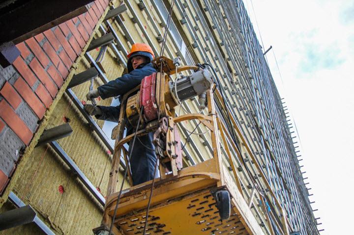 Во время реконструкции здания технопарка. Фото с сайта vb.by