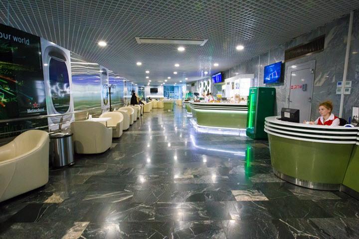 Бизнес-зал в аэропорту Минск-2. Фото с сайта airport.by