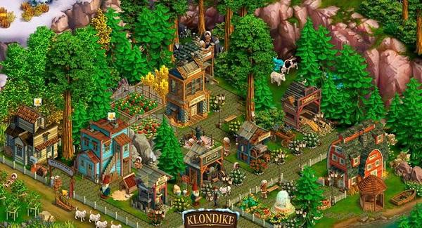 Скриншот игры Klondike