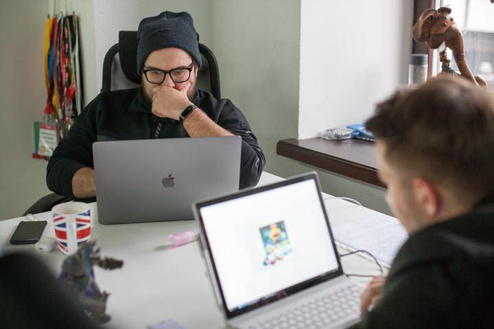 Офис MediaCube Network. Фото: Антон Мотолько