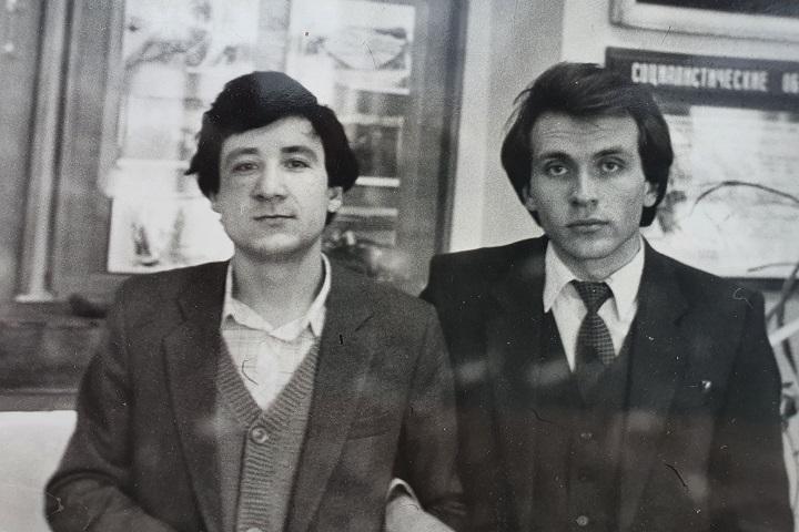 Сергей Султанов и Михаил Долженко. Фото: личный архив героини