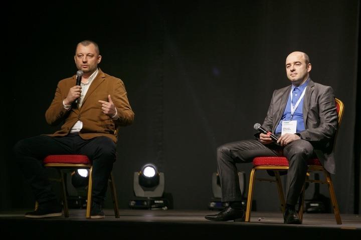 Андрей Мелевич и Максим Якубович. Фото: Павел Поташников, probusiness.by