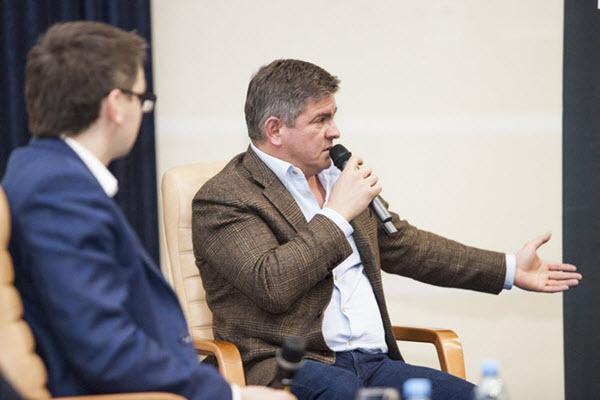 Алексей Жуков на Встрече Про бизнес. Фото: probusiness.by