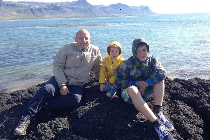 Где-то в Исландии. 2015. Фото из личного архива Леонида Лознера