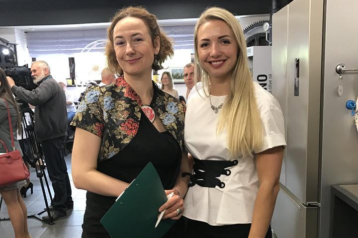 Наталья Чавко с партнером Юлией. Фото из архива компании