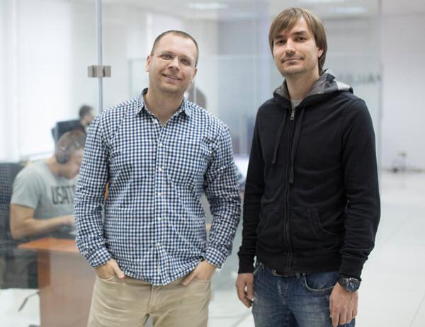 Матвей Тимошенко и Петр Скоромный. Фото предоставлено Apalon