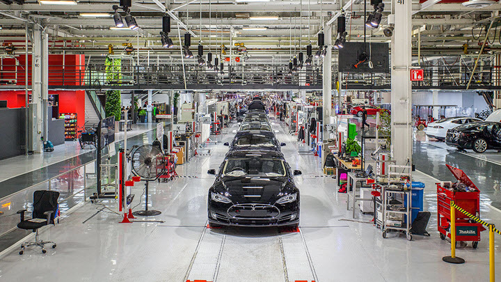 Завод Tesla. Фото с сайта life.ru