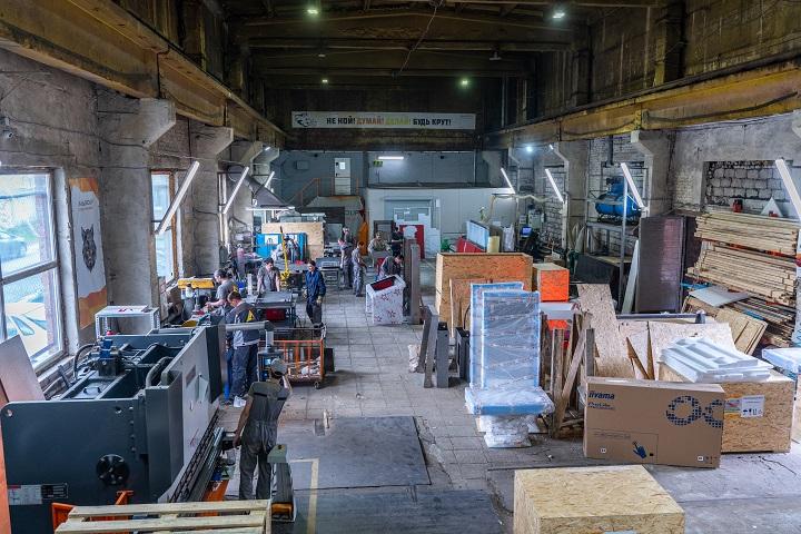 Производственный цех. Фото из архива компании
