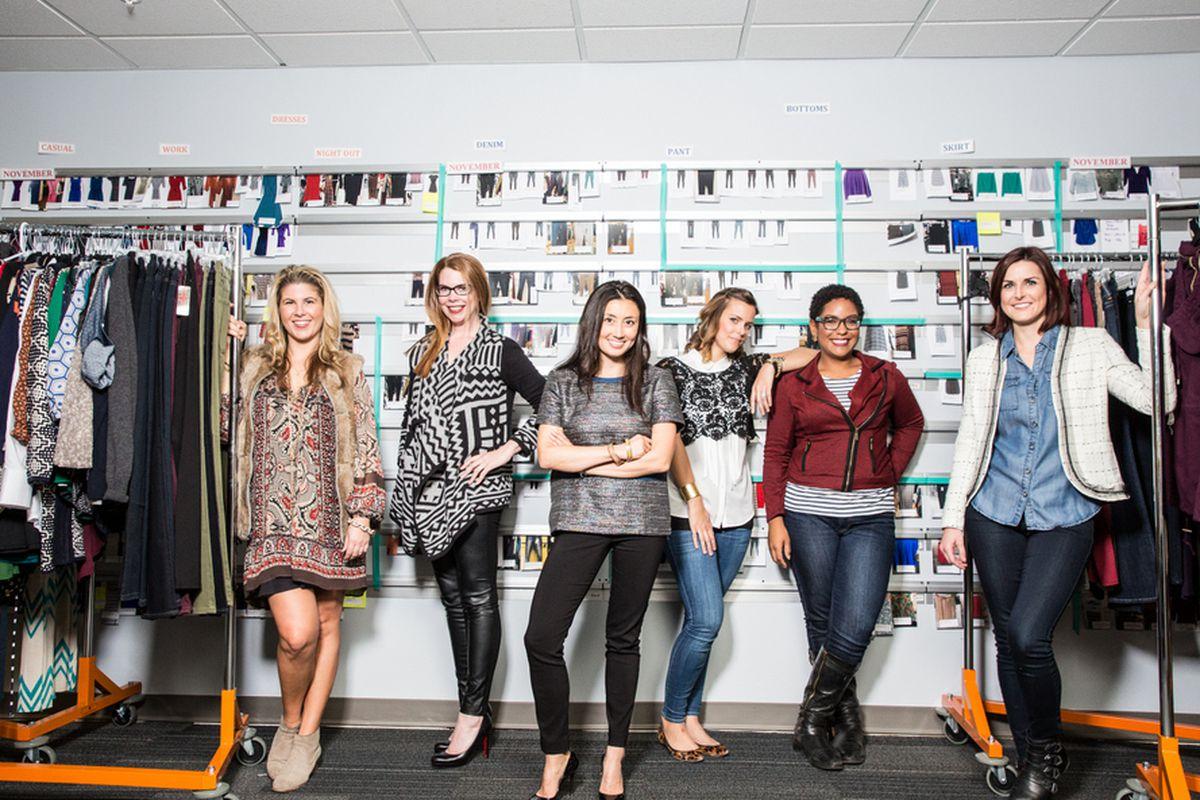 Команда Stitchfix. Фото с сайта sf.racked.com