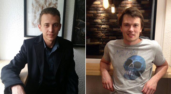 Кирилл Кузин (слева) и Илья Трумм. Фото из личного архива