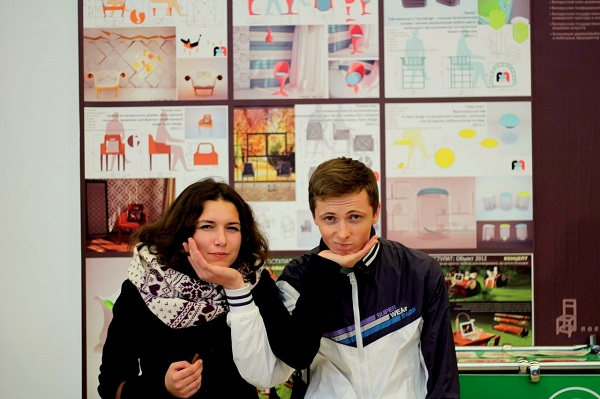 Мария Ерема (занимается внешними связями) и Игорь Царук. Фото предоставлено Faino Design