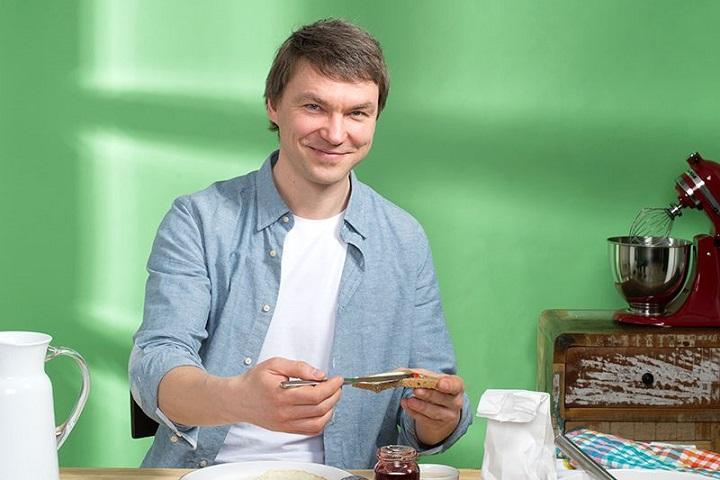 Основатель розничных сетей «ВкусВилл» и «Избенка» Андрей Кривенко, фото Юрий Чичков, РБК
