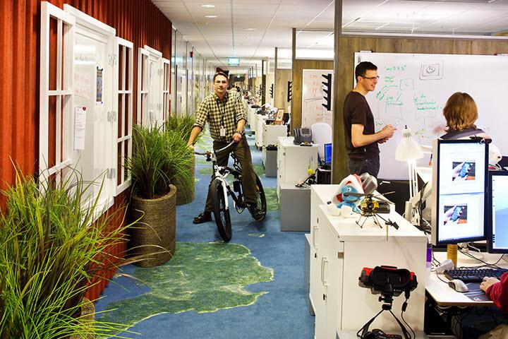 Офис Google в Швеции. Фото с сайта surfingbird.ru