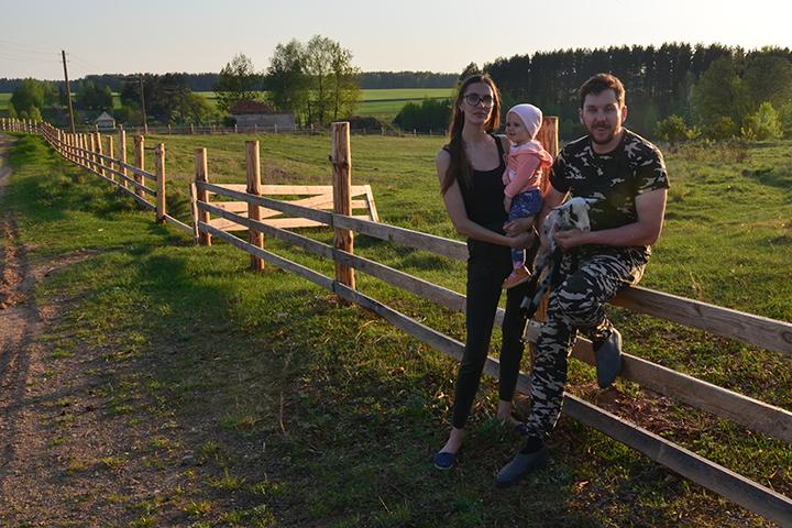 Дмитрий Лавренчук с семьей. Фото из личного архива автора