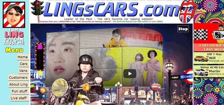 Скриншот: lingscars.com