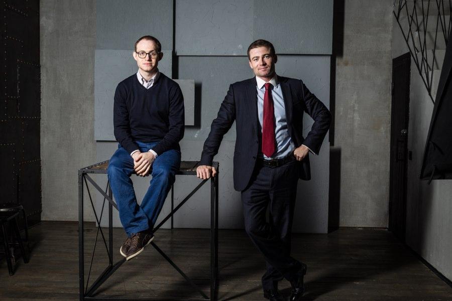 Александр Дунаев и Борис Батин. Фото с сайта idfinance.com