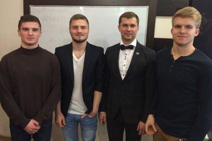 Команда проекта. Фото из личного архива Алексея Киреева