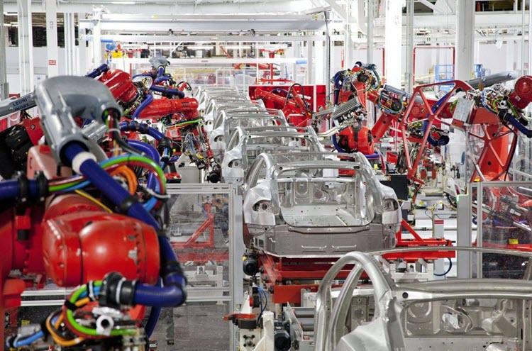 Завод по производству «Тесла», Фермонт, штат Калифорния. Фото с сайта drive2.ru