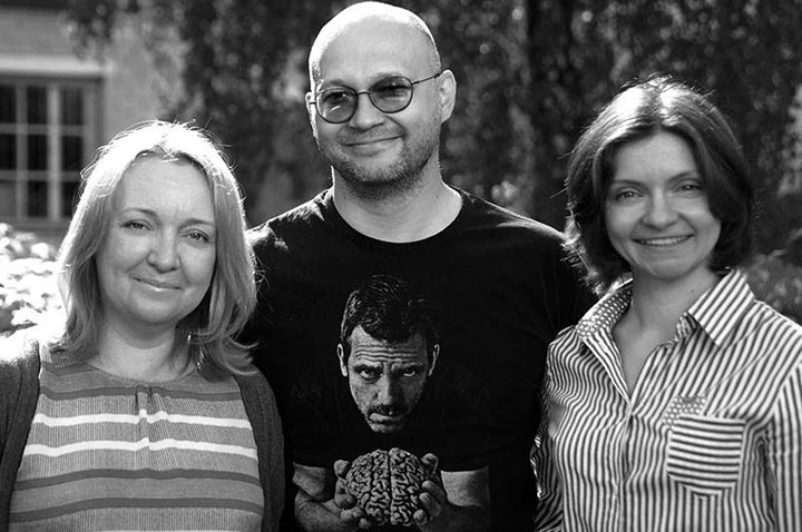Сооснователи проекта: Ирина Вдовина, Сергей Попов, Наталия Искорцева