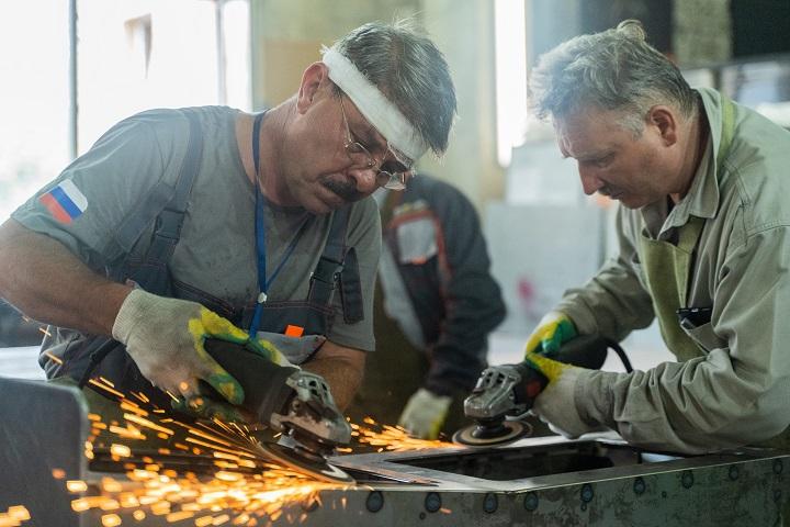 Металлообработка в процессе производства. Фото из архива компании