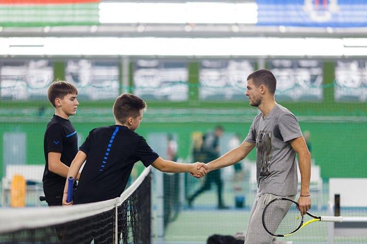 Фото предоставлено Лигой Тенниса