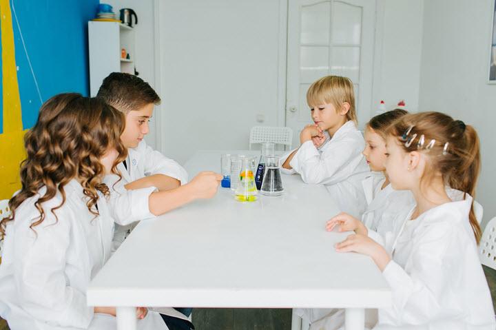Фото из архива сети детских научных клубов «Эдисон» и «Фарадей»