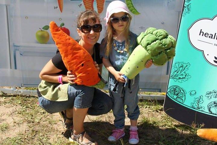 Екатерина с дочкой. Фото с личной страницы на Facebook