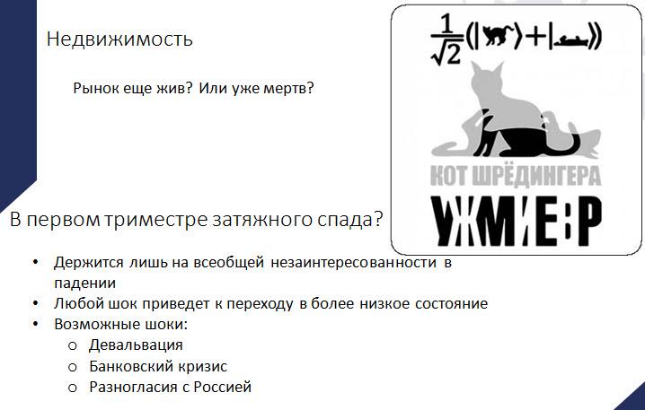 Скриншот из презентации Владимира Василевского