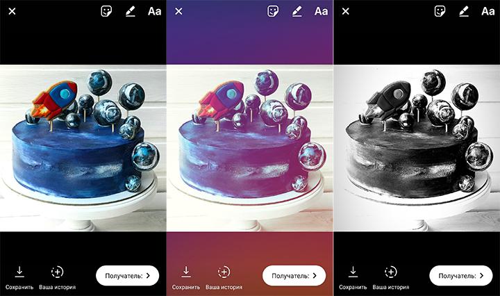 Фото из аккаунта olechka_cakebake в Instagram
