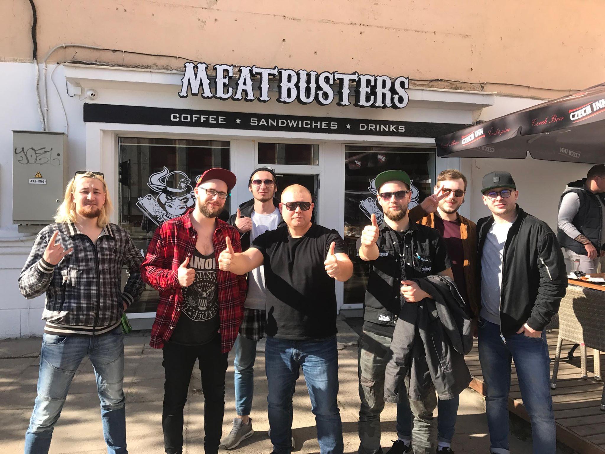 Команда Meatbusters. Фото из архива Максима Худасова