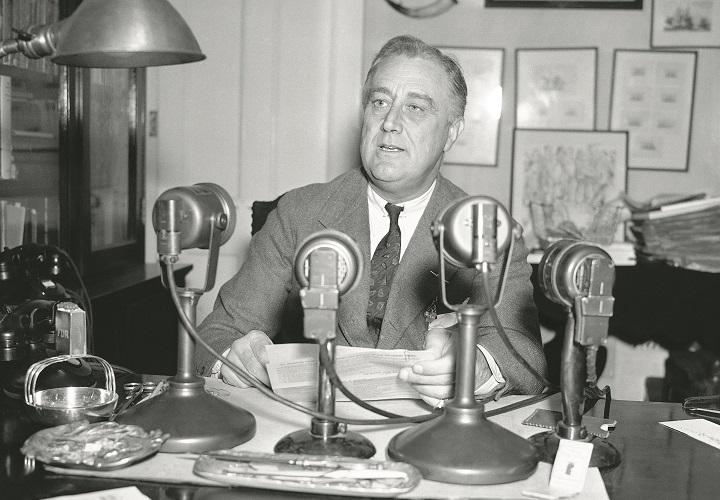 Франклин Рузвельт. Фото с сайта историк.рф