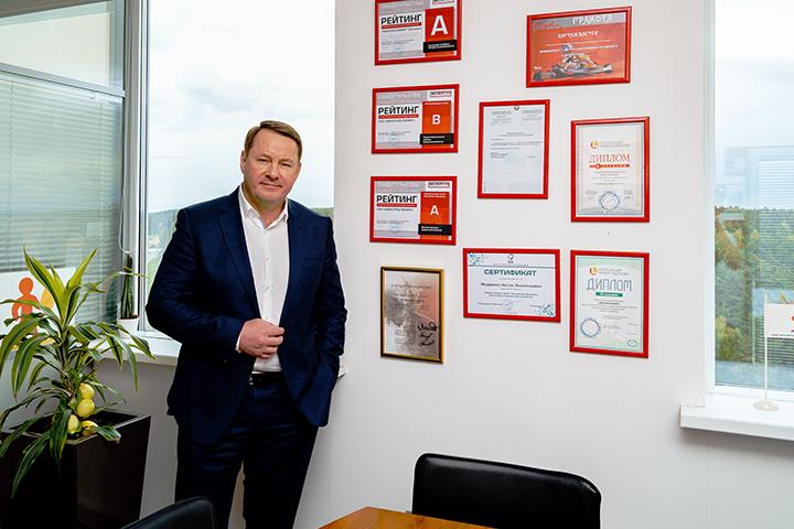 Антон Андренко, офис компании «АВАНГАРД ЛИ3ИНГ». Фото probusiness.io