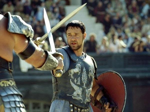 Кадр из фильма «Гладиатор», реж. Ридли Скотт, 2000