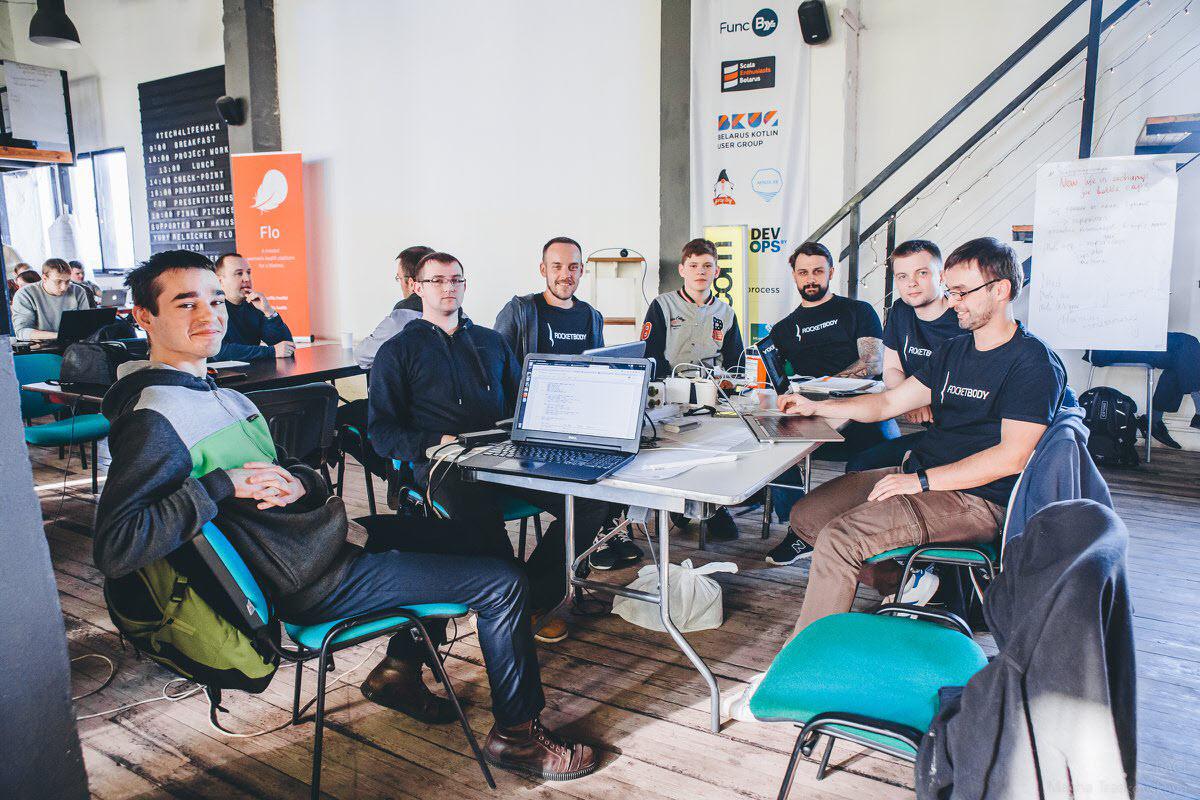 Команда RocketBody. Фото из сообщества EventSpace в Facebook