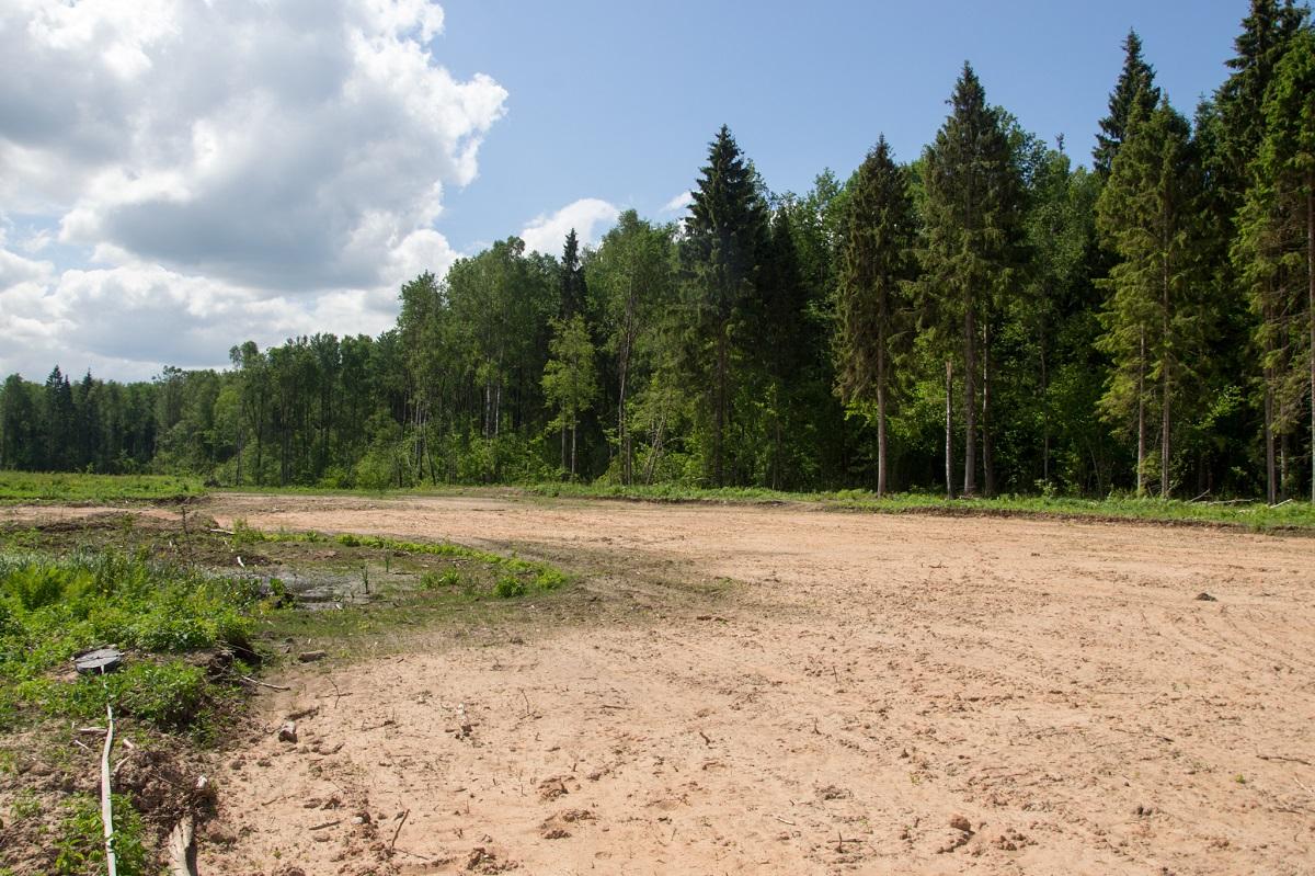 На площадке проведены все, необходимые для дальнейшего строительства, подготовительные работы. Фото предоставлено ВЗПП
