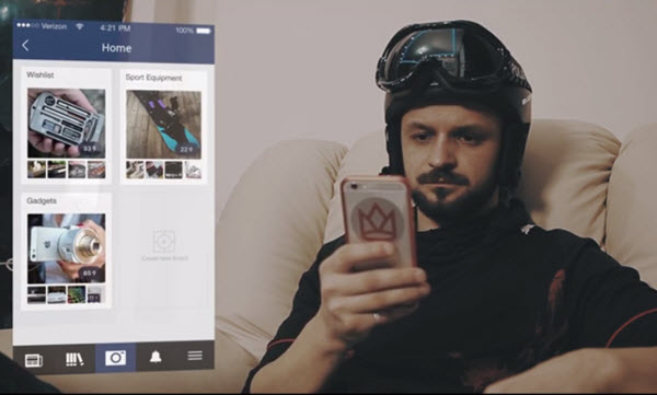 Скриншот из презентационного видео RexPax