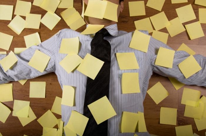 Проблема многозадачности. Фото с сайта www.hyperinkpress.com