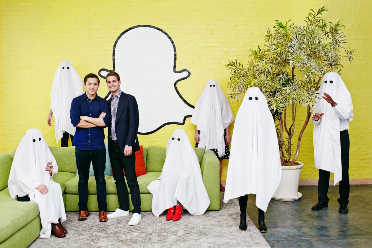 Основатели Snapchat Эван Шпигель и Бобби Мерфи. Фото с сайта etohum.com