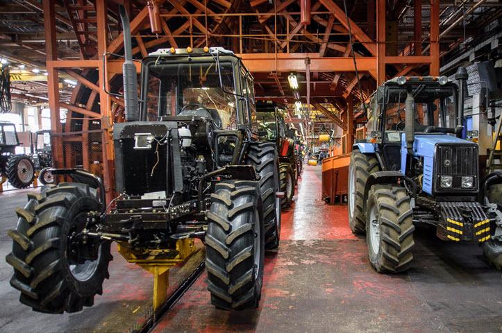 Минский тракторный завод. Фото: TUT.BY