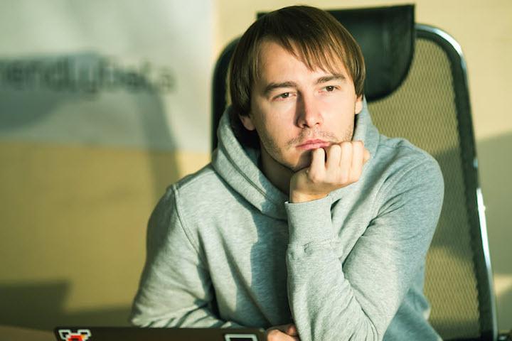 Михаил Румянцев. Фото с сайта dev.by. Фотограф: Андрей Давыдчик