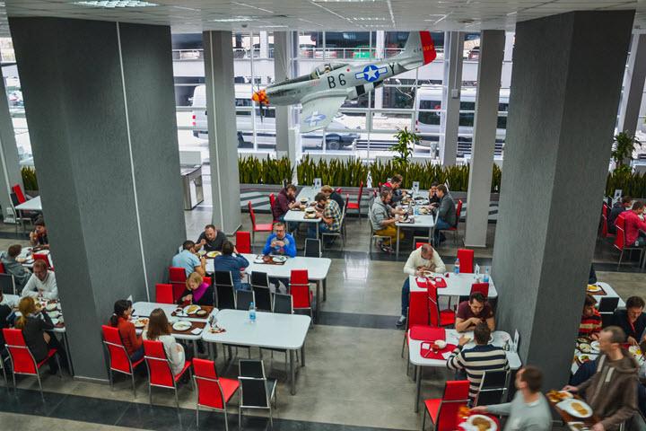 Офис Wargaming в Минске. Фото с сайта kyky.org