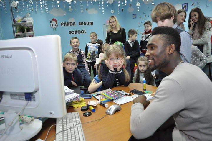 Фото из сообщества Panda English School во ВКонтакте