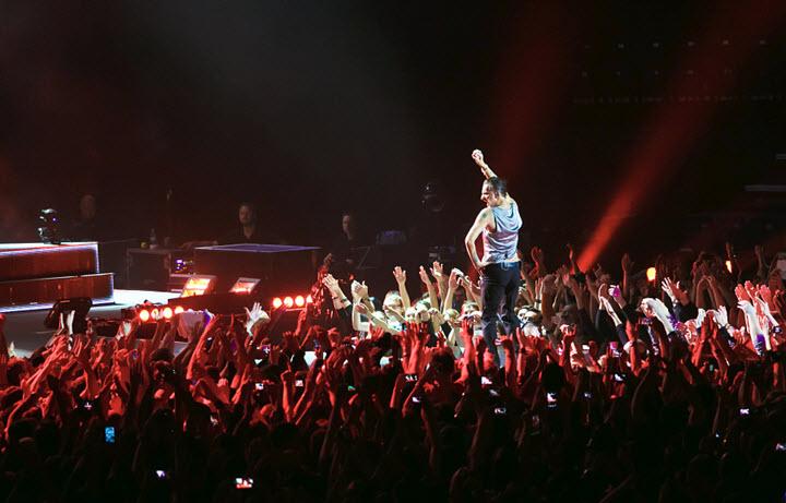 Концерт Depeche Mode в Минске в 2013 году. Фото: Павел Поташников